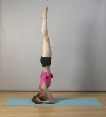 headstand  yoga pictures yoga fitness exercise