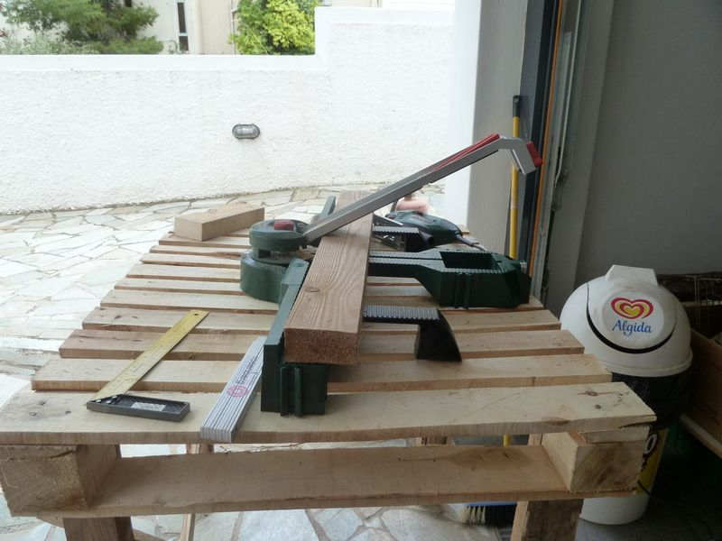 working bench on the fly