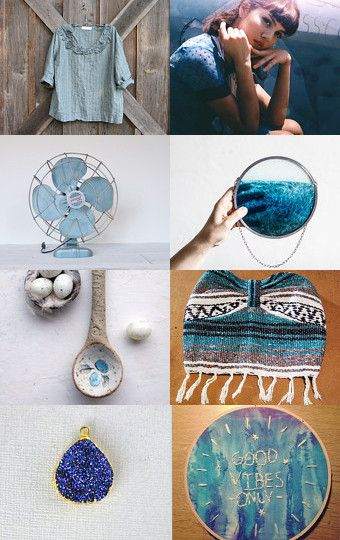 Shades Of Blue by Joelle Poulos on Etsy--Pinned with TreasuryPin.com #blue #shades #treasury #etsyfinds