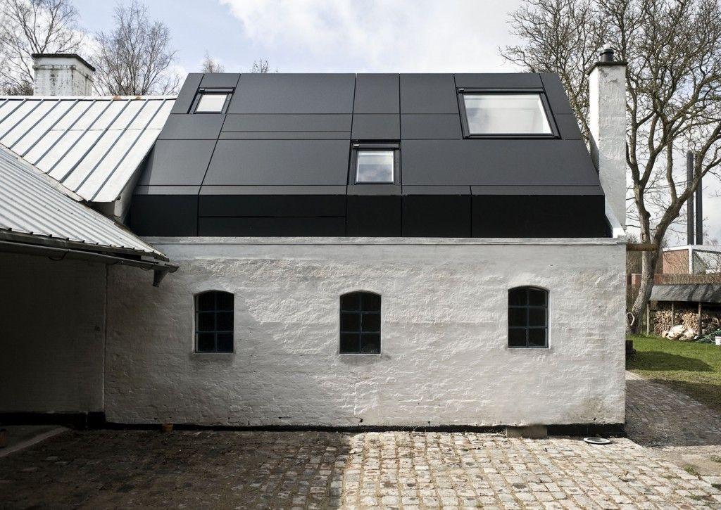 Fenster außenansicht haus  Außenansicht des Ateliers Posehuset | A barn | Pinterest | Atelier