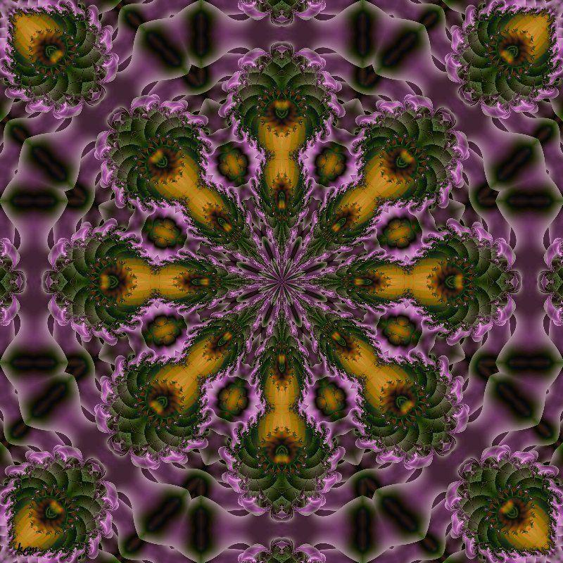 Pin By Metafractals On Fractals Digital Art Mandala Art Mandala Abstract