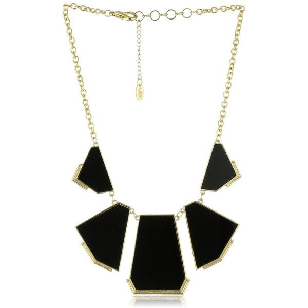 "Amrita Singh ""Hamptons"" Geometric Resin Necklace found on Polyvore"
