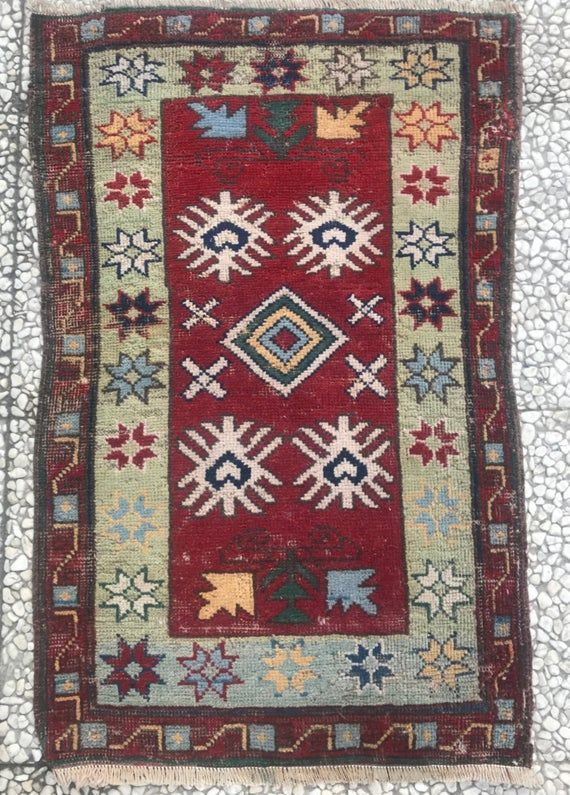 Colorful Rug Small Wool Rugs