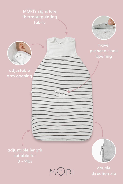 MORI Baby Clothes in 7  Cotton baby clothes, Organic cotton