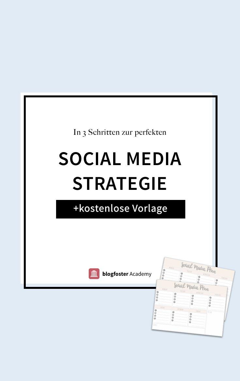 Find heraus, wie Du eine Social Media Strategie für Dein Blog ...