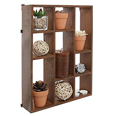 Brilliant 15 Inch Wall Mount Vertical Or Horizonal 9 Slot Rustic Home Interior And Landscaping Oversignezvosmurscom