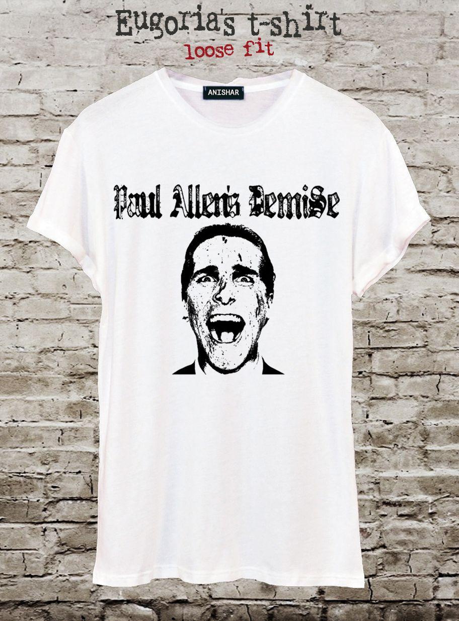 T-shirt design handmade - American Psycho T Shirt Pop Art T Shirt Design Tshirt Handmade