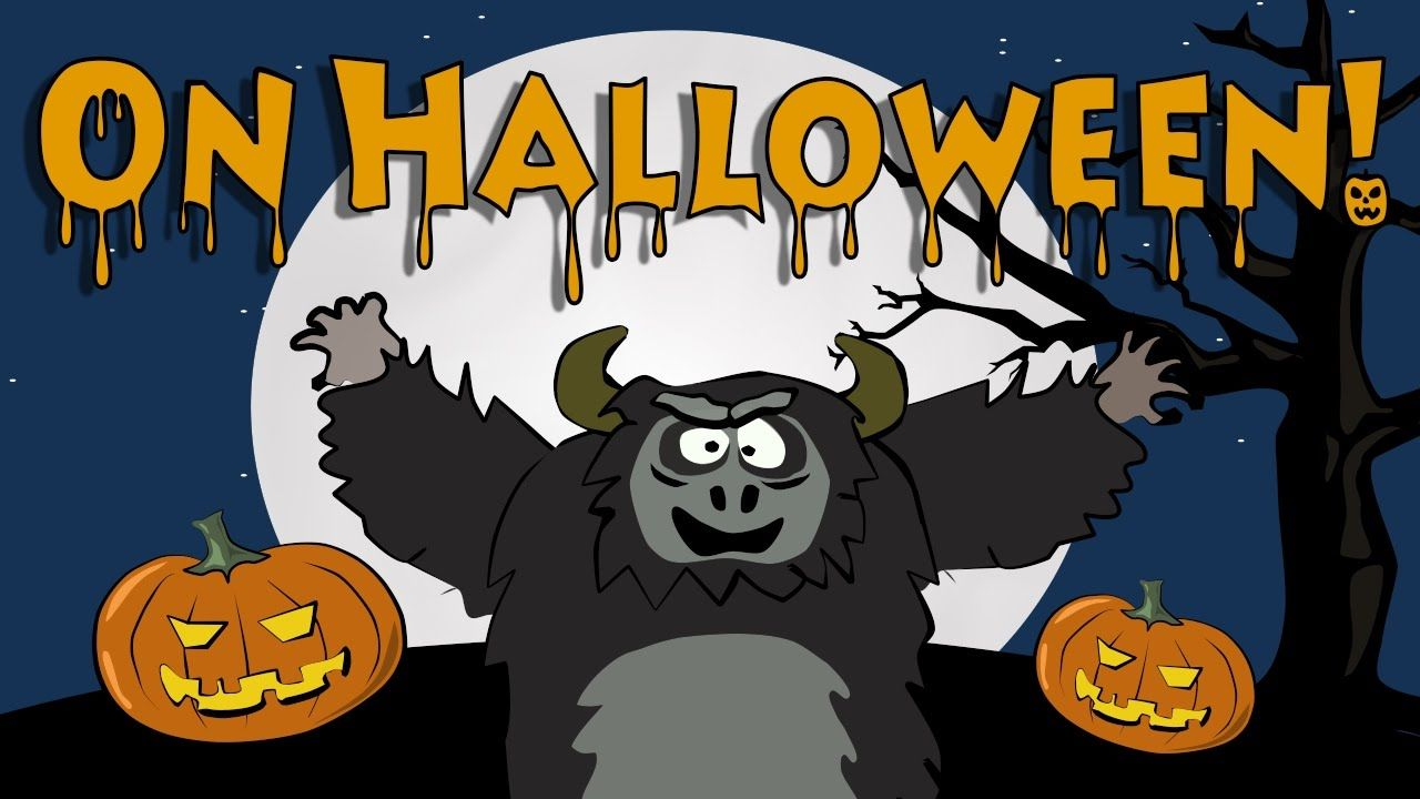 Halloween song for kids | The Singing Walrus | Halloween and Bats ...