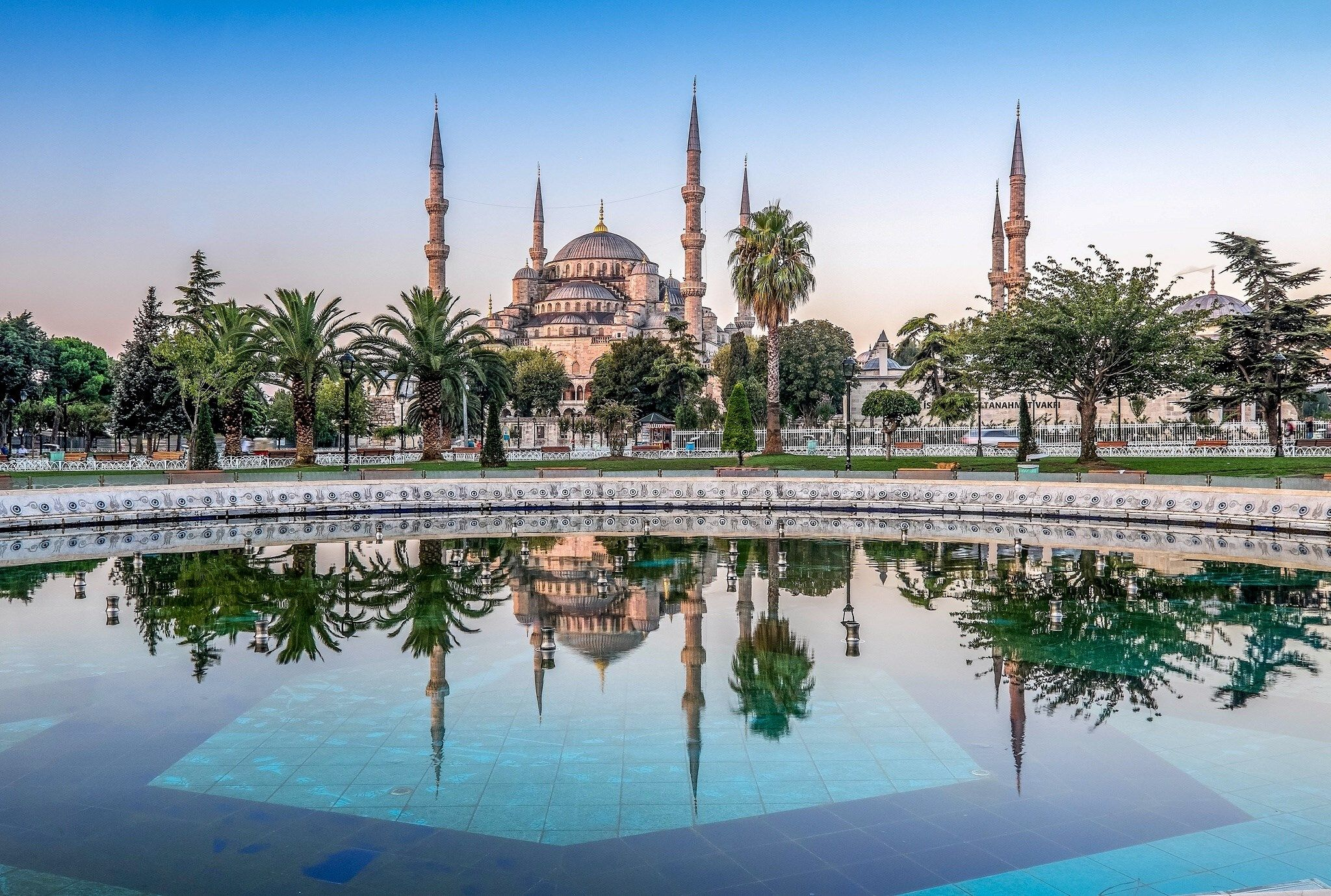 Free Desktop Backgrounds For Sultan Ahmed Mosque Blue Mosque Mosque Istanbul