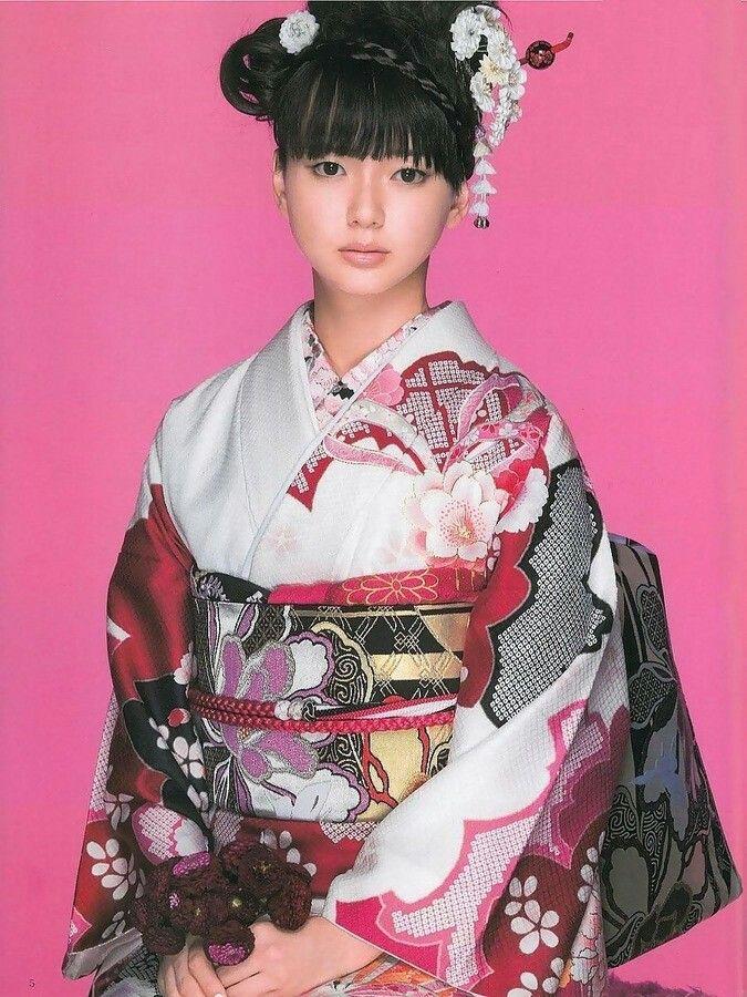 #成人式 着物 振袖 Kimono Furisode/多部未華子 Mikako Tabe