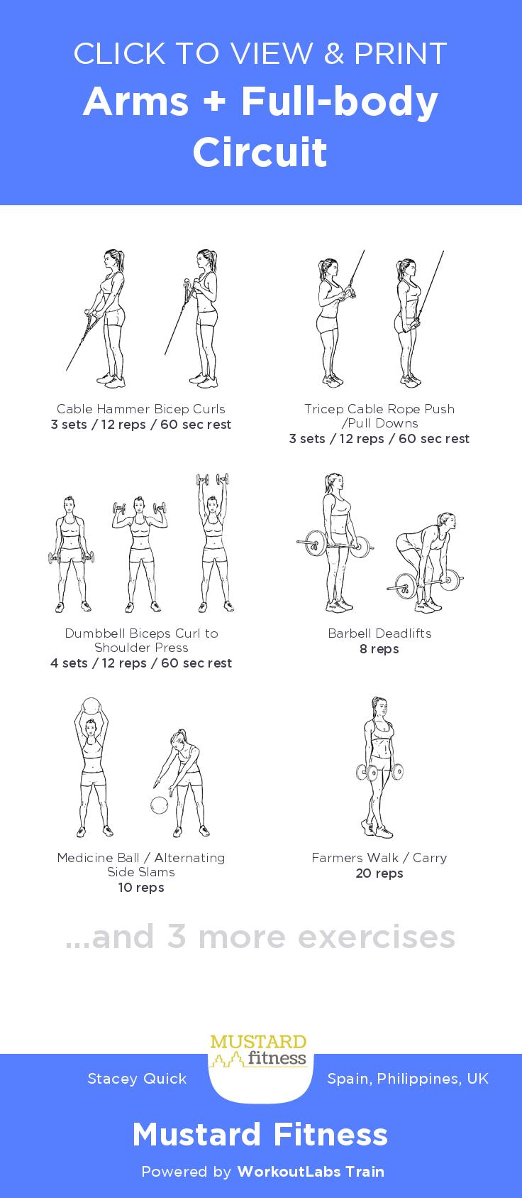 Zbody Fitness Pdf Arms | Kayafitness co