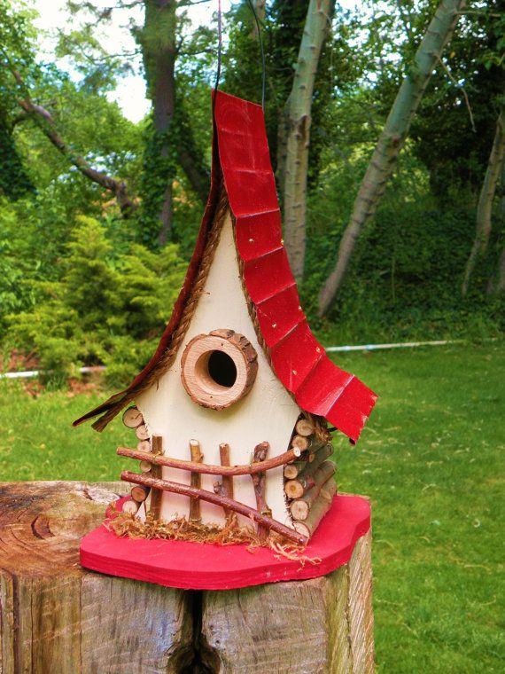 Bird house functional and decorative birdhouse unique for Creative birdhouses