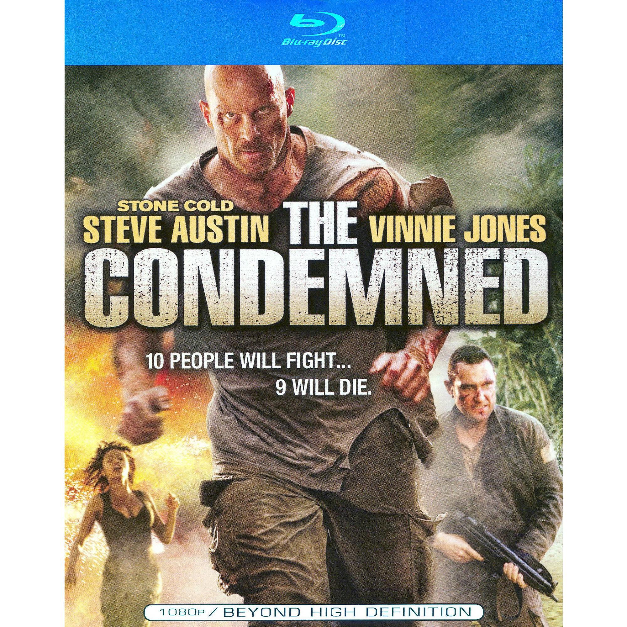 The Condemned Blu Ray Movies Steve Austin Survival Movie