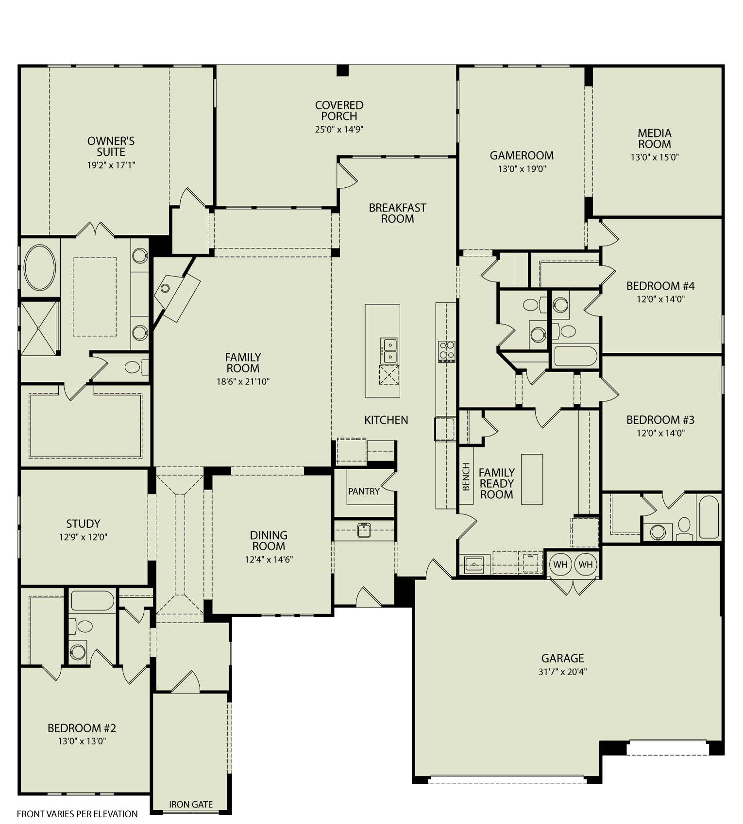 Lauren Iv 125 Drees Homes Interactive Floor Plans Custom Homes Without The Custom Price Floor Plans Custom Homes Building A House