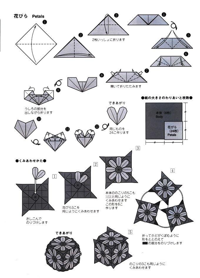コスモスの折り方(2)