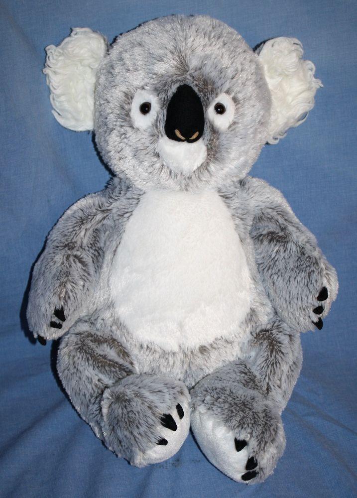 Unicorn Teddy Bear Toys R Us, Toys R Us Large Plush Koala Bear Gray White Stuffed Soft Big 21 Toy Curly Ears Koala Bear Koala Plush
