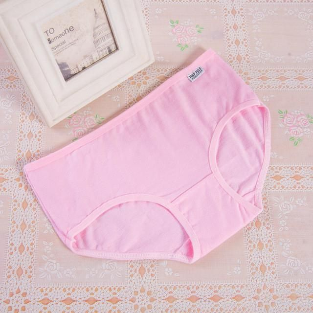 6ebb1961fad9 Hot Candy Color Sexy Female Underwear Women's Cotton Panties Lady  Breathable Underpants Girls Knickers Panty Briefs M XL