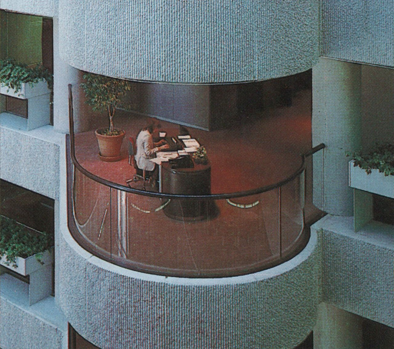 """From """"The International Collection of Interior Design"""" (1985)"""