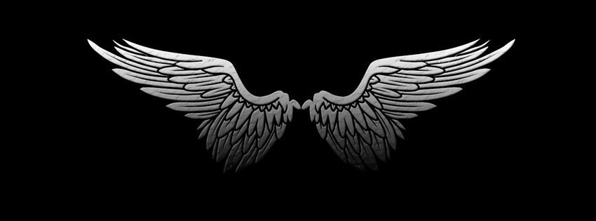 Black Angel Wing Fb Cover Http Wallpapersko Com Black Angel Wing Fb Cover Html Hd Wallpapers Down Twitter Cover Photo Facebook Cover Photos Facebook Cover