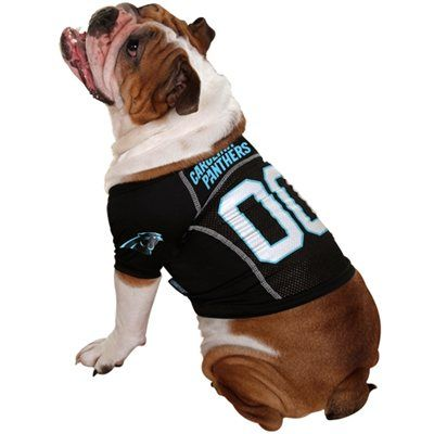new style 5f399 8843f Carolina Panthers #00 Mesh Pet Jersey - Black | ChampAudio ...