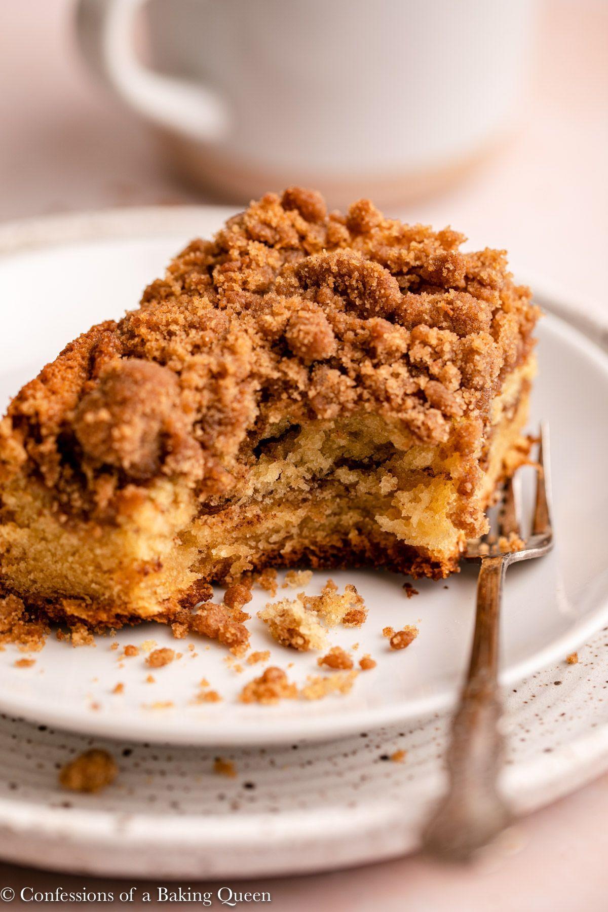 Sour Cream Coffee Cake Recipe In 2020 Sour Cream Coffee Cake Coffee Cake Coffee Cake Recipes