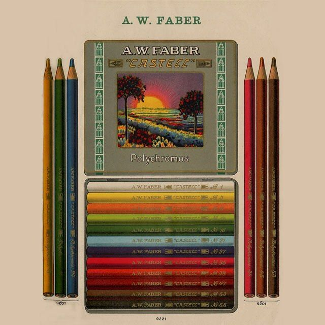 Faber Castell Official On Instagram It Just Doesn T Get Boring With Old Polychromos Packaging Tbt Throwbackthursda Faber Castell Pencil And Paper Pencil