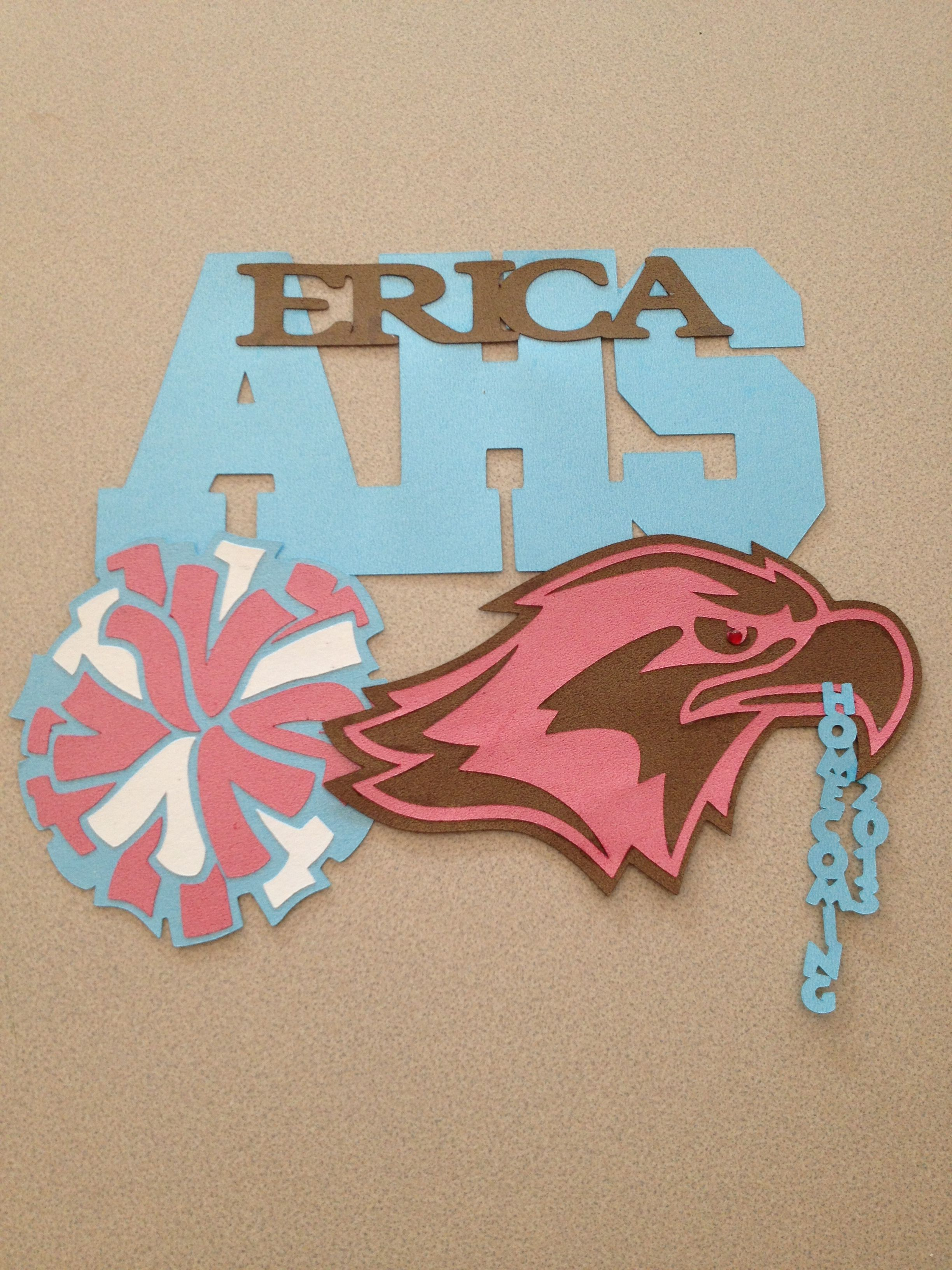 Cheerleading Locker Decorations. Cheer locker decoration  Locker Decorations Pinterest Lockers