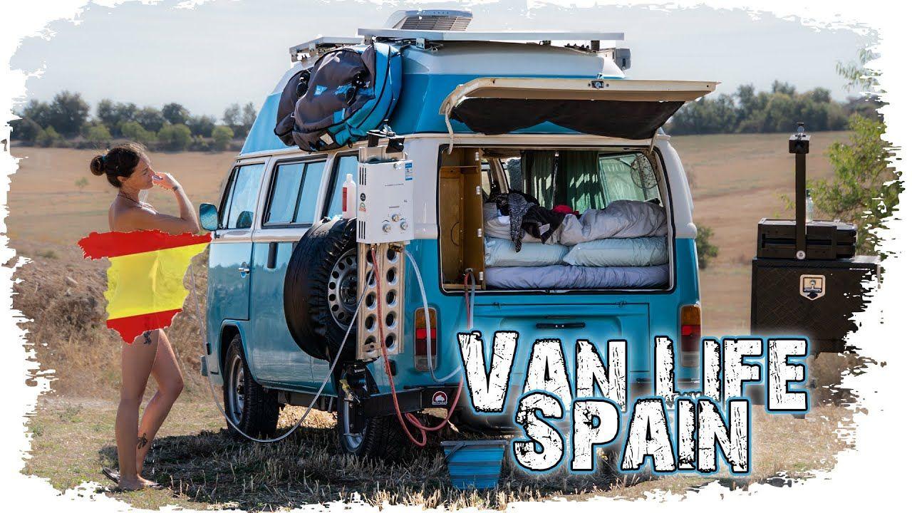 VAN LIFE SPAIN: Barcelona vs Spanish Wild Camping ...