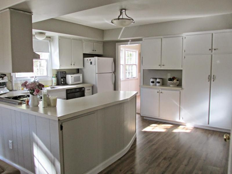 Image result for revere pewter kitchen with white cabinets ...