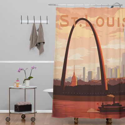 DENY Designs Anderson Design Group Saint Louis Shower Curtain