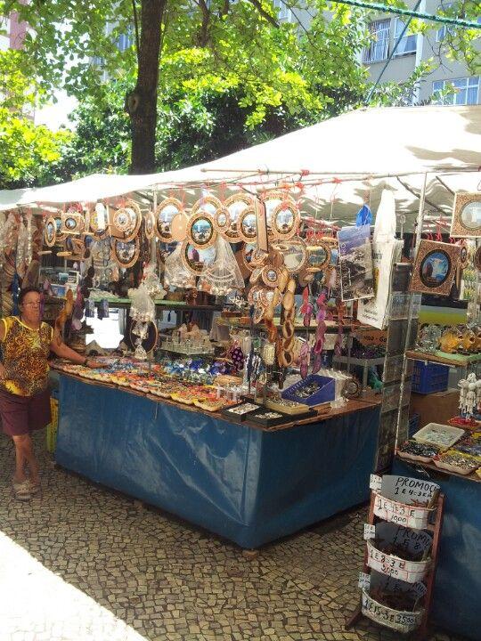 Feira Hippie in Rio de Janeiro, RJ