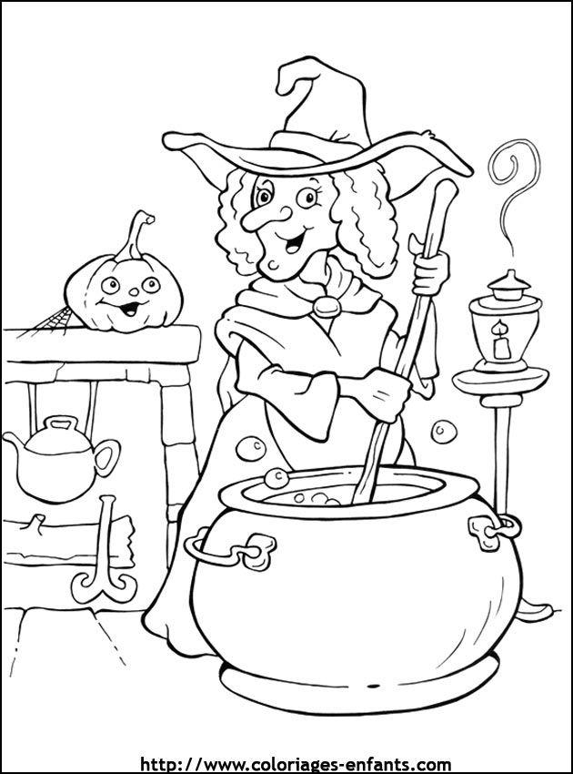 coloriage halloween - Recherche Google   sortie   Pinterest