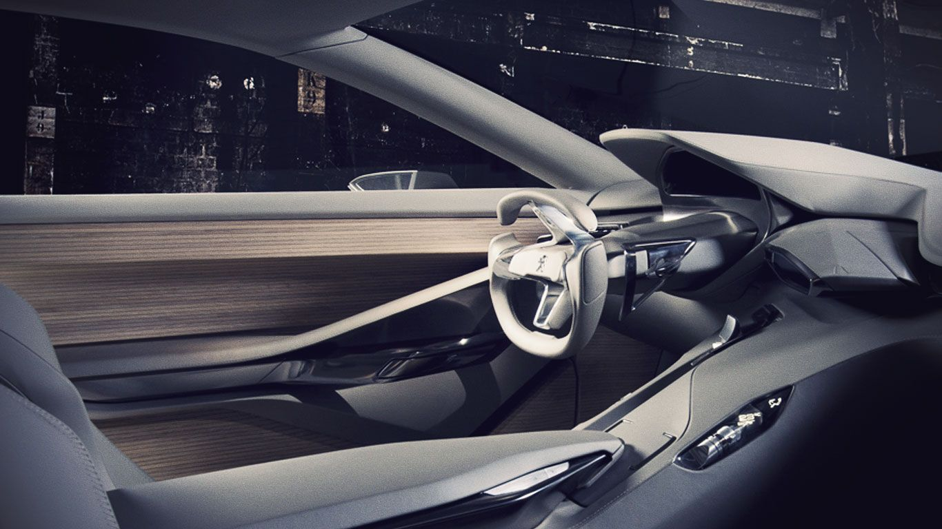 Peugeot concept interior images - Car interior design ...