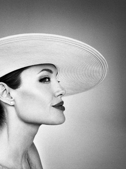 "le-jolie:  """"Angelina Jolie photographed by Marc Hom - 2007  "" """