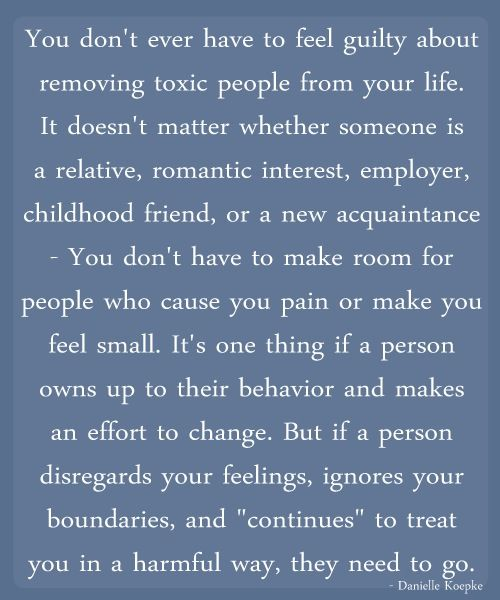 Cutting Toxic People Out Of Your Life Could Not Have Said It