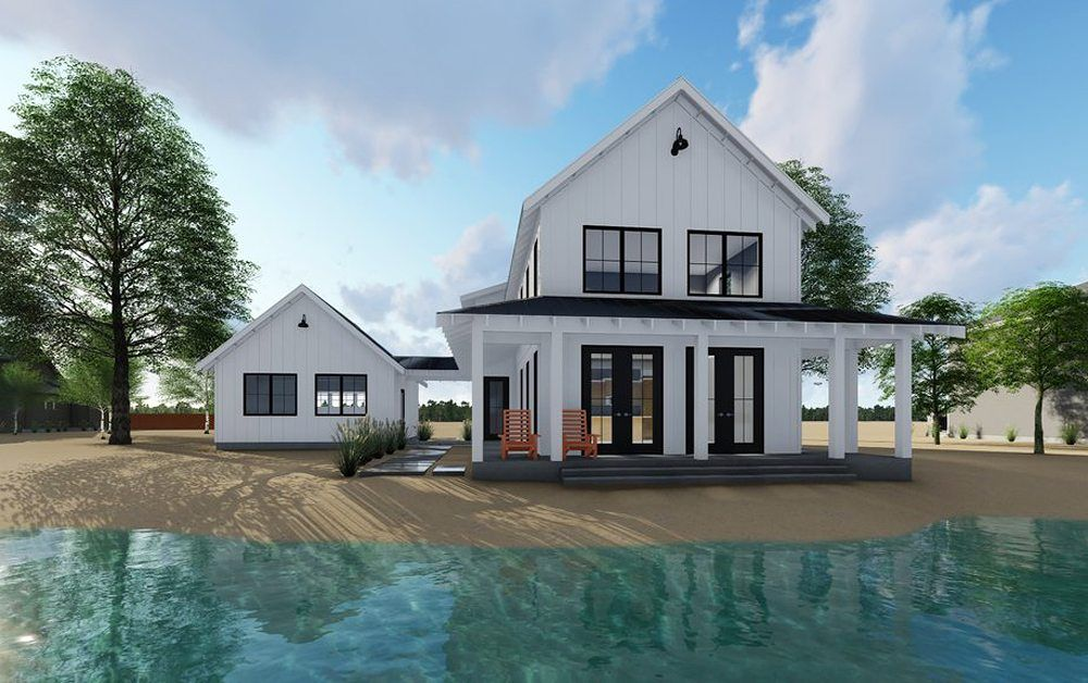 Chp 26 106 This 2 Story Cabin Design Embraces The Modern