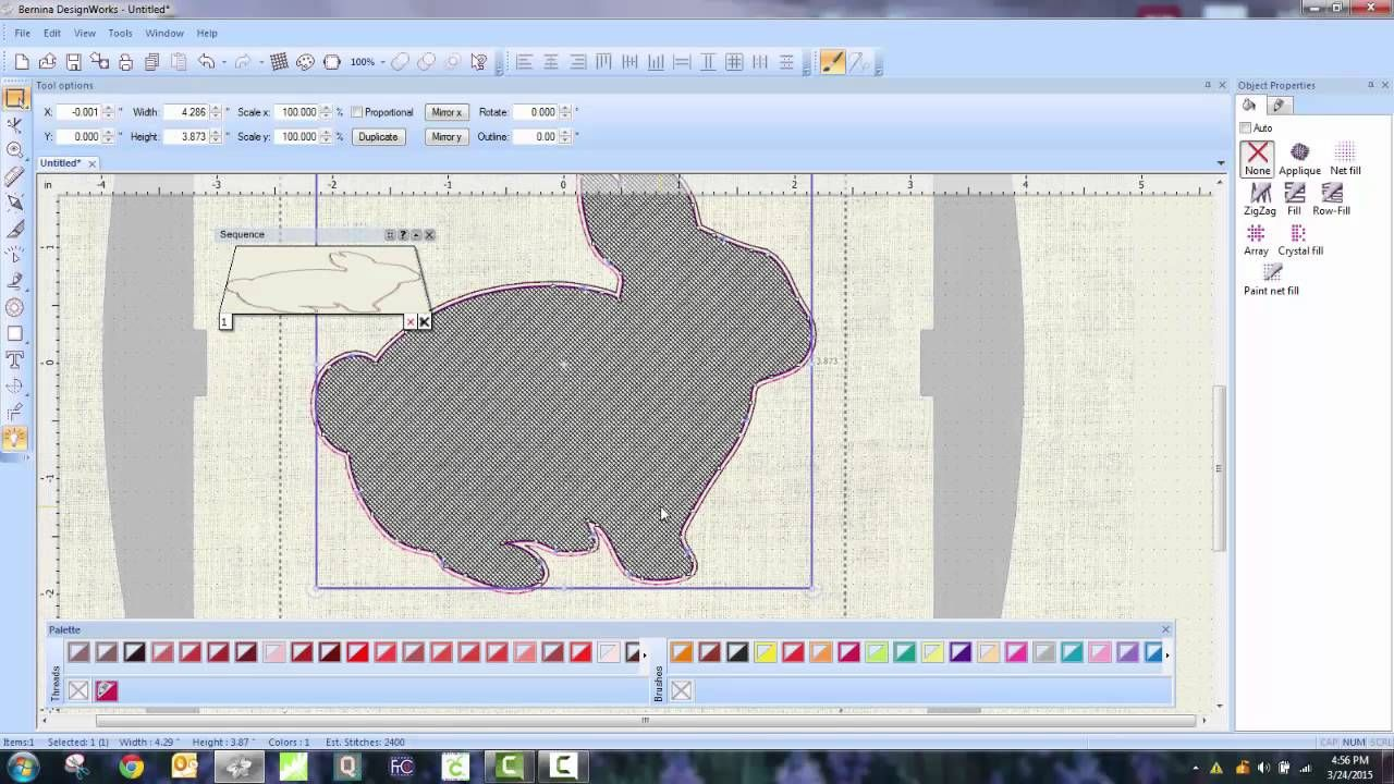 A quick and easy tutorial using a jpg file to create an applique ...