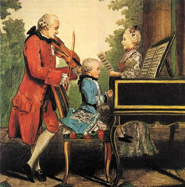Image result for Mozart as a child""