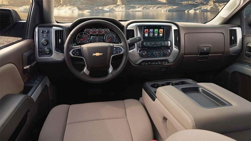 2016 Chevy Silverado 1500 Interior View Truck Tough Pinterest