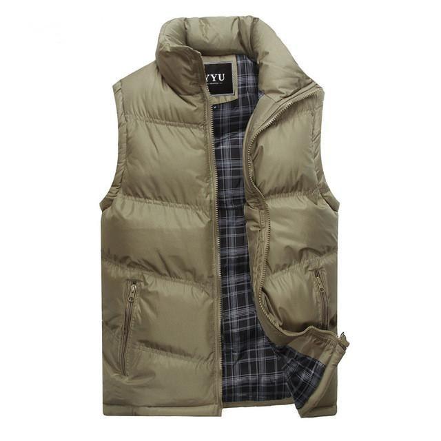 Mens Jacket Sleeveless Vest