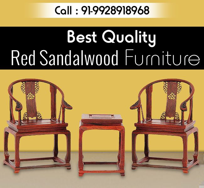 Shop Best Quality Red Sandalwood Furniture At Reasonable Cost