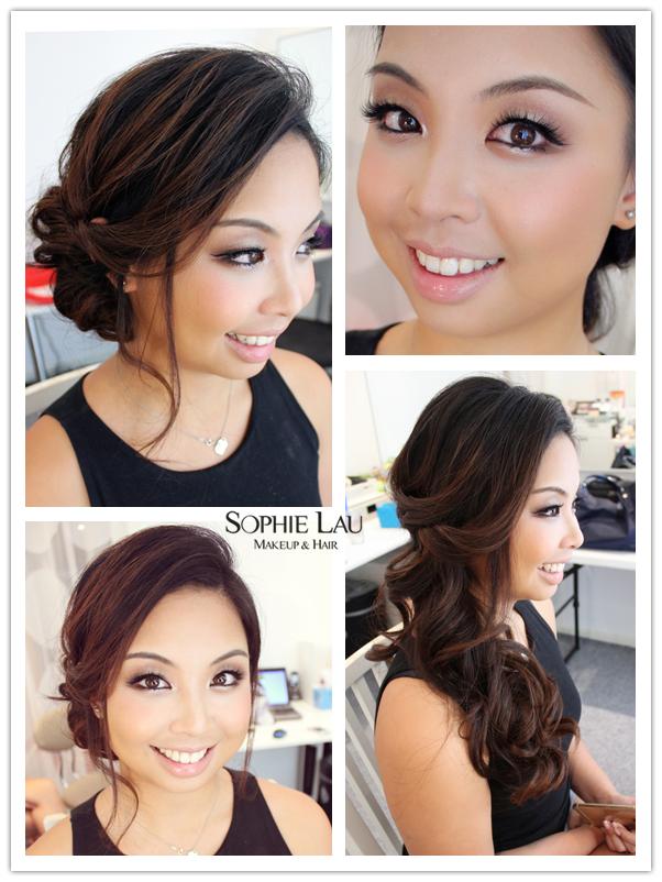 Maquillaje de novia asiática, maquillaje de boda asiático, Cabello Nupcial-4093