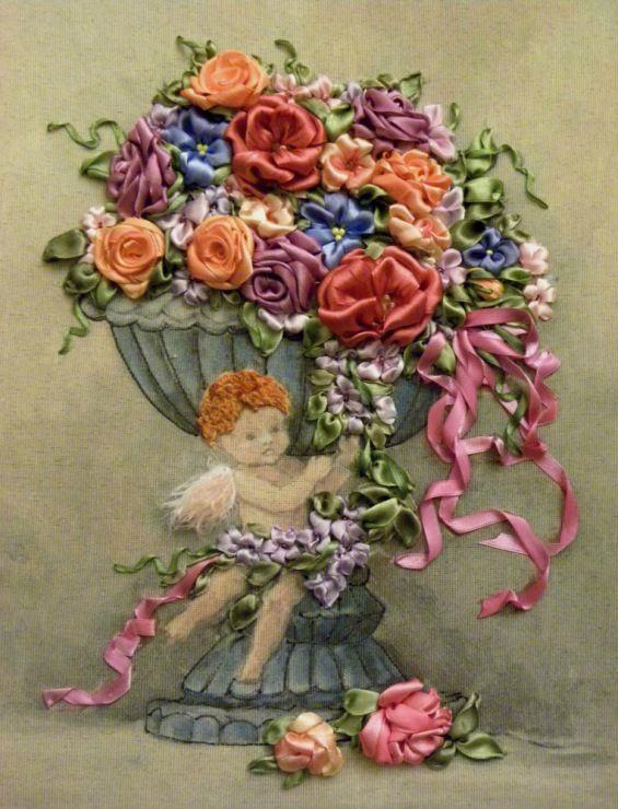 Gallery.ru / Фото #56 - Моя вышивка лентами-6 - pskov-sveta