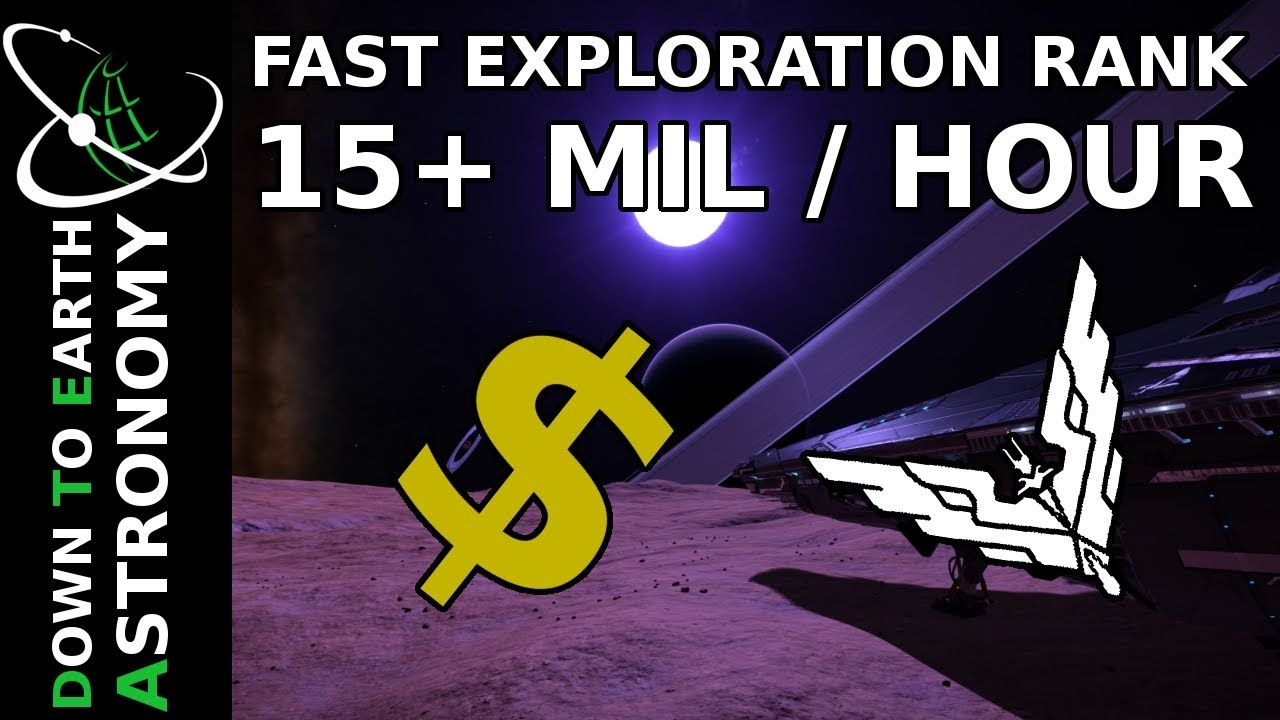 FAST ELITE EXPLORATION RANK | 15+ MIL / HOURS | ELITE