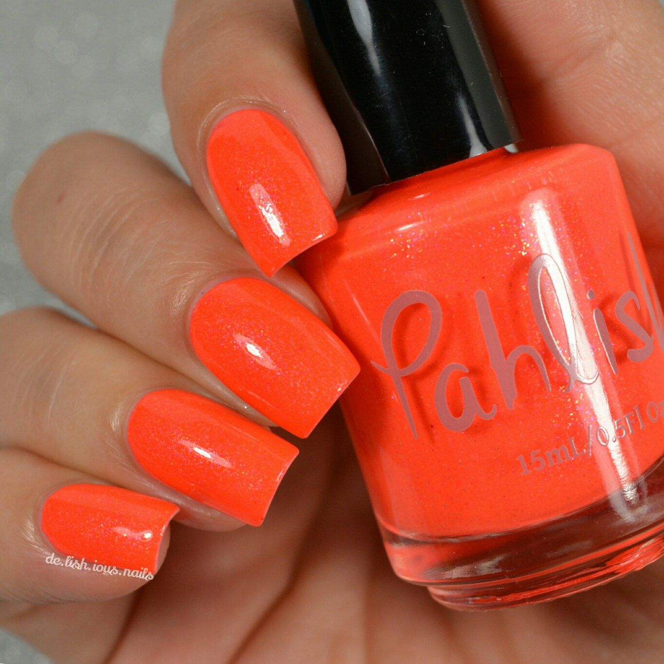 Pahlish Hothouse Flowers Blood Lily Indie Polish Swatches