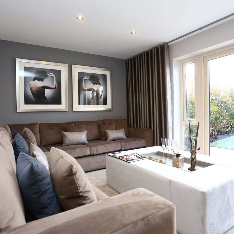 The Separate #lounge Has French Doors Which Open Onto The Side Garden.  #Strata