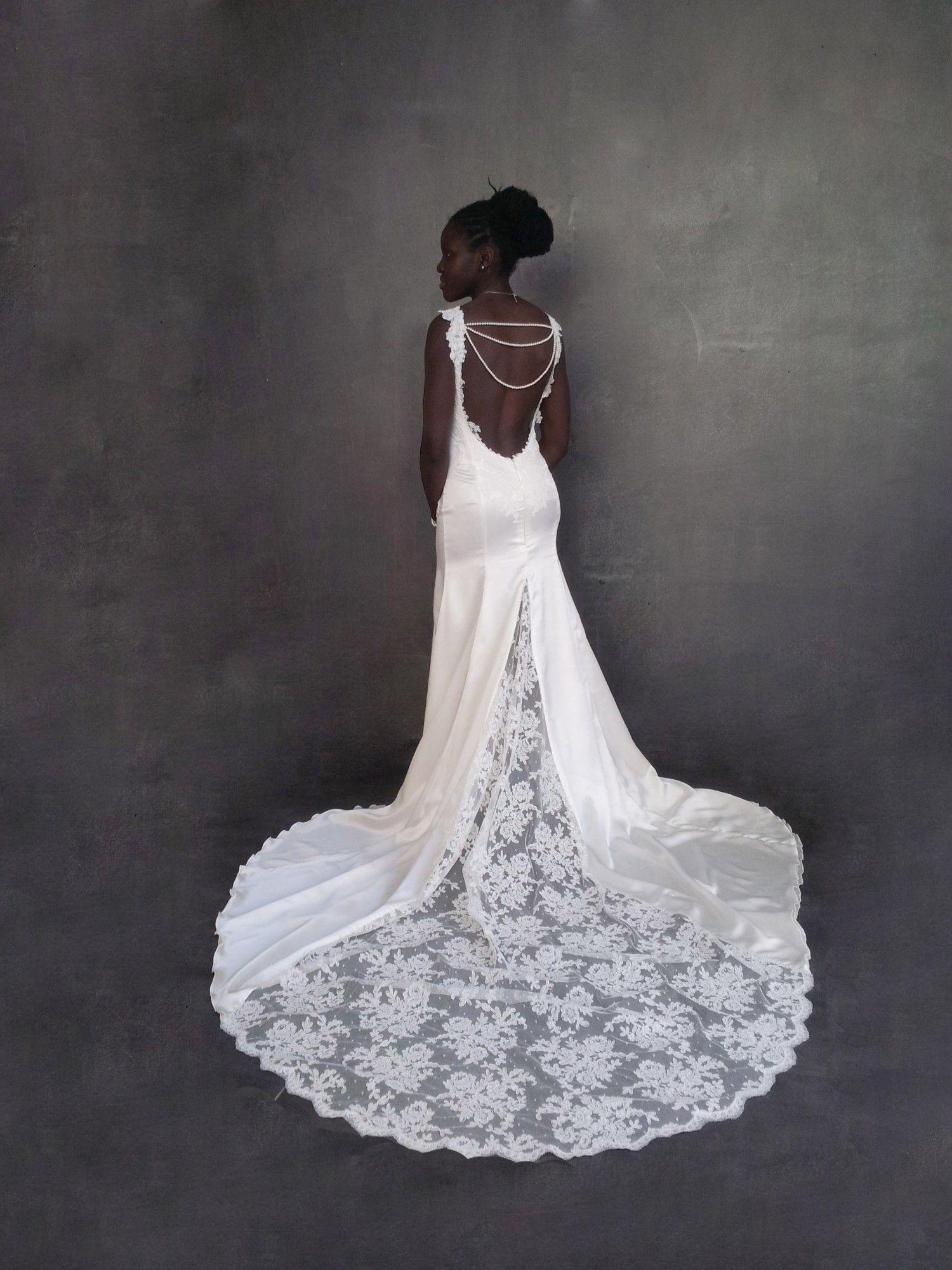 De mariee sur mesure pour sophia robe sirene - Robe mariee dos nu dentelle ...