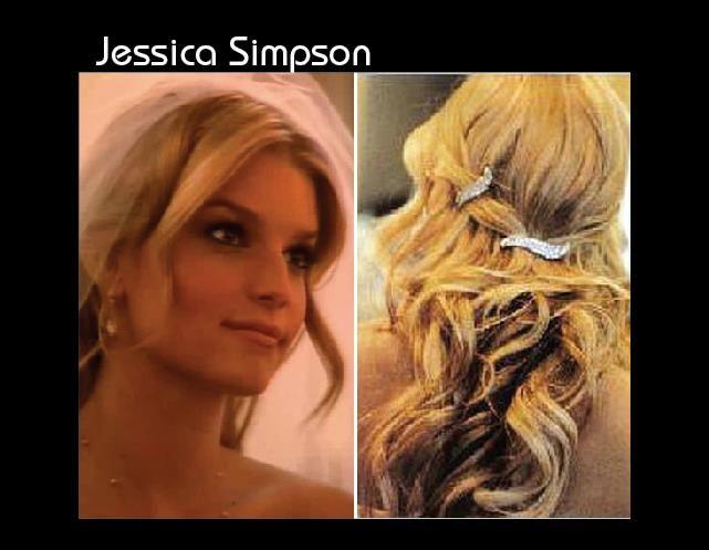 Jessica Simpsons Wedding Hairstyle Lol Rofl Com Wedding Hairstyles Hairstyle Jessica Simpson Wedding