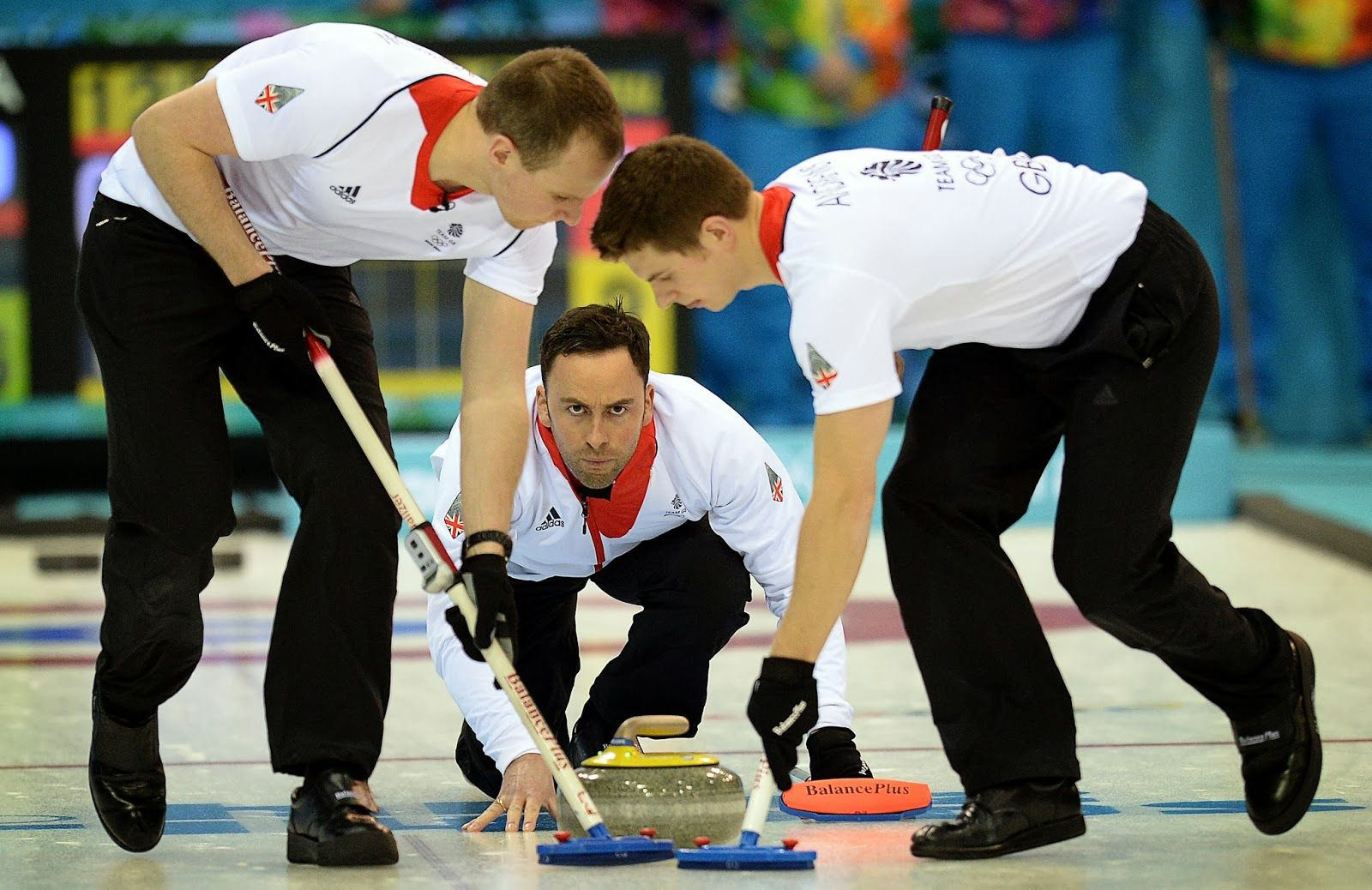 Sochi Olympics 2014 Men's Curling Matches in Pictures