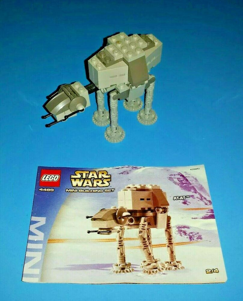 LEGO 4489 Star Wars Mini AT-AT (Episode 4/5/6 2003) Complete with